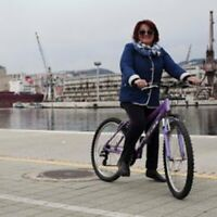 Rent A Pedal bike for only $25 for a week.