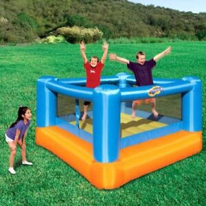 """Portable, inflatable jumping bouncy """"house"""" like new"""