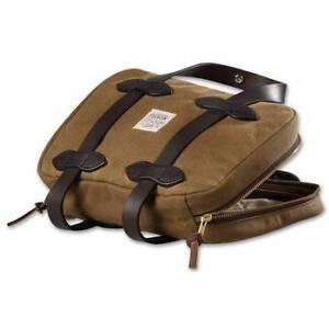 Filson Tin Cloth Grip Case bag
