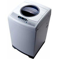 BUMPER SALE ON RCA TOPLOAD WASHER RPW160 1.6 CU. FT FOR $249.99.