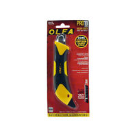 OLFA Comfort Grip Pro Utility Knife (18mm) ***New***