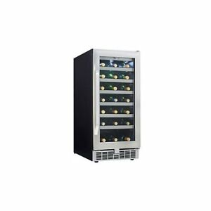 Danby Silhouette DWC93BLSST Wine Cooler, New
