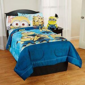 Ensemble de literie complet Minions pour lit simple