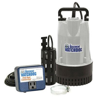 Basement Watchdog Bw1050 12 Hp 1-12 Cast Iron Aluminum Sump Pump12 Hp 115v