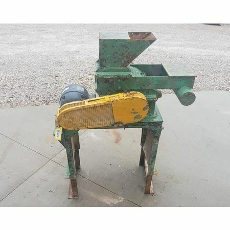 """Used 5HP 15""""x9"""" American Pulverizer Crusher Type L Ring Hammer Mill"""