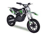 kids dirtbike/motorbike used twice like brand new with helmet