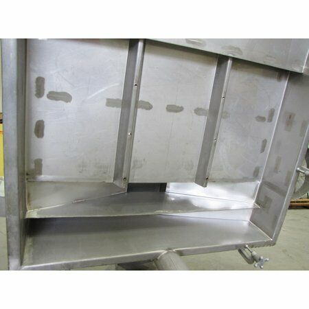 Unused Witte Model 242-S Classifier Pan & Chassis