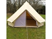 4M ZIG Bell Tent, great condition + inner bedroom