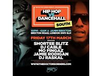 Hip-Hop vs Dancehall South - Brixton Jamm - 17th March 2017