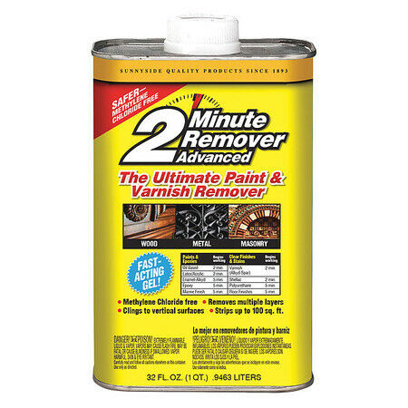 Sunnyside 63432 Paint Remover,1/4 Gal.,Solvent Base
