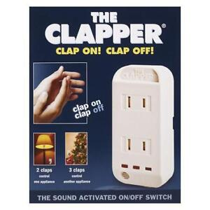"The Clapper ""Clap On! Clap Off!"" New in Box"