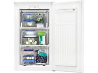 Frost free Zanussi under counter Freezer A+ rated