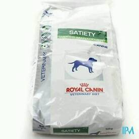 12kg bag Royal Canin Satiety Support dog food