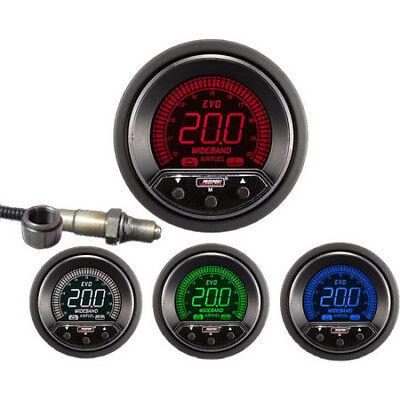 Prosport 52mm Evo wideband Air/Fuel ratio gauge kit inc sender AFR peak warning