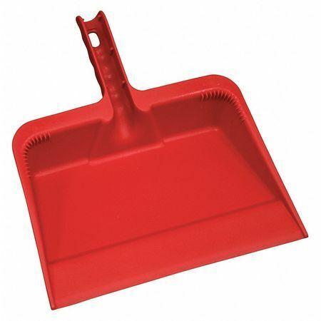 Tough Guy 48Lz35 Hand Held Dust Pan,Red,Polyethylene