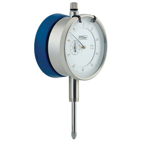 FOWLER 525204850 BOM Dial Indicator with Mag Back