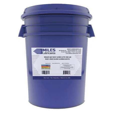 Miles Lubricants M00701703 Way Oil,Pail,5 Gal.Viscosity 68