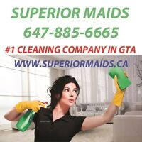 Move in and move out cleaning by Superior Maids, #1 in Toronto