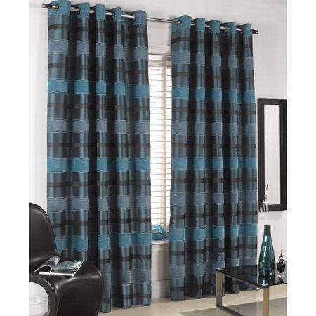 Heavy Teal Curtains Ebay