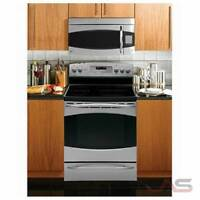 "NEW GE PROFILE 30"" SMOOTHTOP CONVECTION 2 OVENS STAINLESS STEEL"