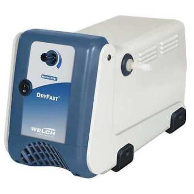 Welch 2047b-01 Vacuum Pump15 Hp28.50 In. Hg2.5 Cfm