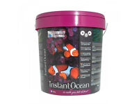 NEW & SEALED > 25KG Instant Ocean Aquarium Synthetic Sea Salt Marine Fish Tank Bucket