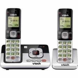 VTech DECT 6.0 Dual Handset Cordless Answering System
