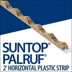 Suntop PALRUF Horizontal Plastic Strips and Screws