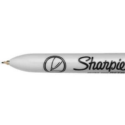 Sharpie 1735790 Permanent Marker Ultra Fine Tip Black Pk12