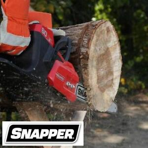 NEW SNAPPER CHAINSAW 60V - 119552654 - 2AH BATTERY AND CHARGER INCLUDED