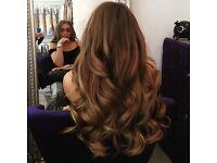 Brazilian Knots / Chemical Hair Straighten / Weave / Braids / Hairdressing / Micro weft