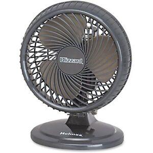 "Holmes® Blizzard™ Oscillating  8"" Table Fan"