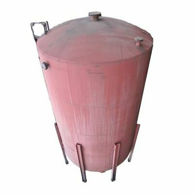 Used 9000 Gallon Vertical Tank Stainless Steel Lined