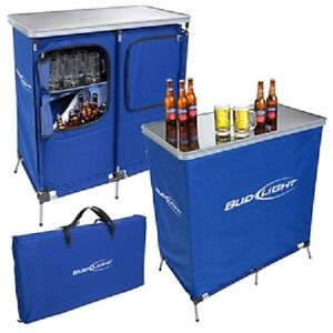 ufc bud light portable bar with speakers