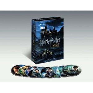 NEW HARRY POTTER 8 SET DVD COLLECTION