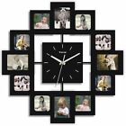 Wall Clocks with Photo Frames