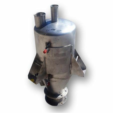 Used Stainless Steel Dry Bulk Hopper - 1.25 cu/ft