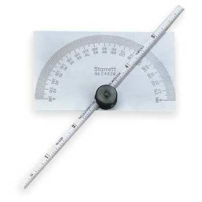 Starrett C493b Protractor And Depth Gage6 In