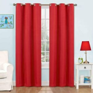 NEW: Eclipse Dayton Blackout Rod Pocket Curtains - $40 per pair