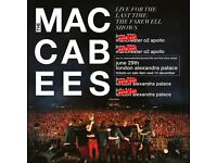 4 x standing tickets The Maccabees Wednesday 28th June O2 Apollo, Manchester