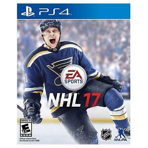 NHL 17 ps4 a vendre ou echange