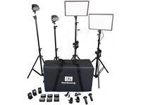 Photography / Film Studio Full LED Lighting Kit
