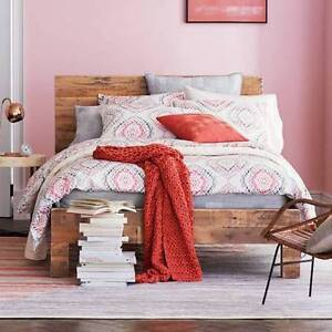 Brand new West Elm Reclaimed Wood bed frame - King size - $1050