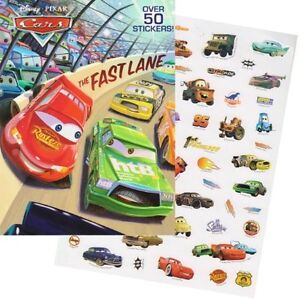 Disney Pixar-Coloring Book, Placemat and Reuseable Sticker Pkg