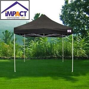 NEW IMPACT INSTANT CANOPY KIT 10' x 10' - 114681357 - BLACK - Patio, Lawn  Garden › Outdoor Décor