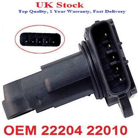 Toyota, Lexus, Mass Air Flow Sensor 22204 22010 22204 21010 197400-2030