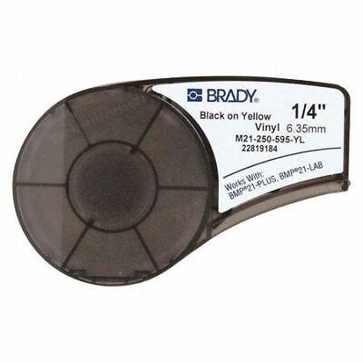 Brady M21-250-595-yl Label Tape Cartridgepermanent Printer