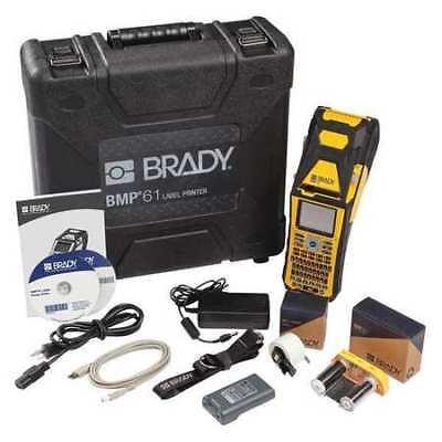 Brady Bmp61-w Portable Label Printerbmp61usbwifi
