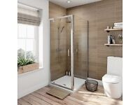 Victoria Plumb 760mm x 760mm pivot door shower enclosure BRAND NEW BOXED £289