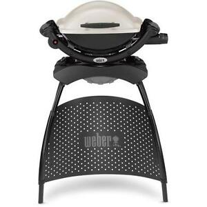 Weber Propane Q1000 Portable Gas Grill BBQ with Full Stand